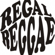 REGAL REGGAE T-SHIRT WHITE & BLACK